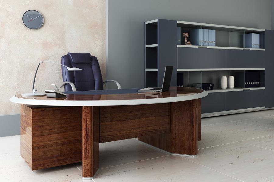 Luxe bureau artikelen: steigerhouten bureau steigerhouten buro