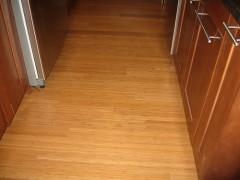 De bamboe vloer is een milieuvriendelijke vloer